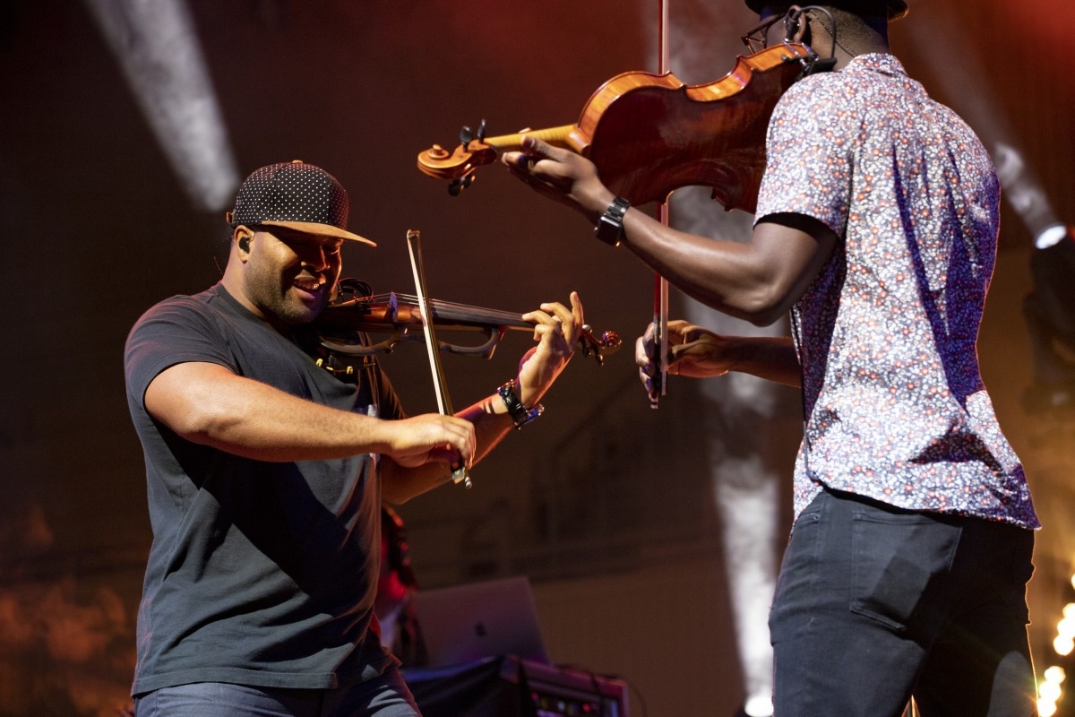 Black Violin at the 2019 NAMM Show