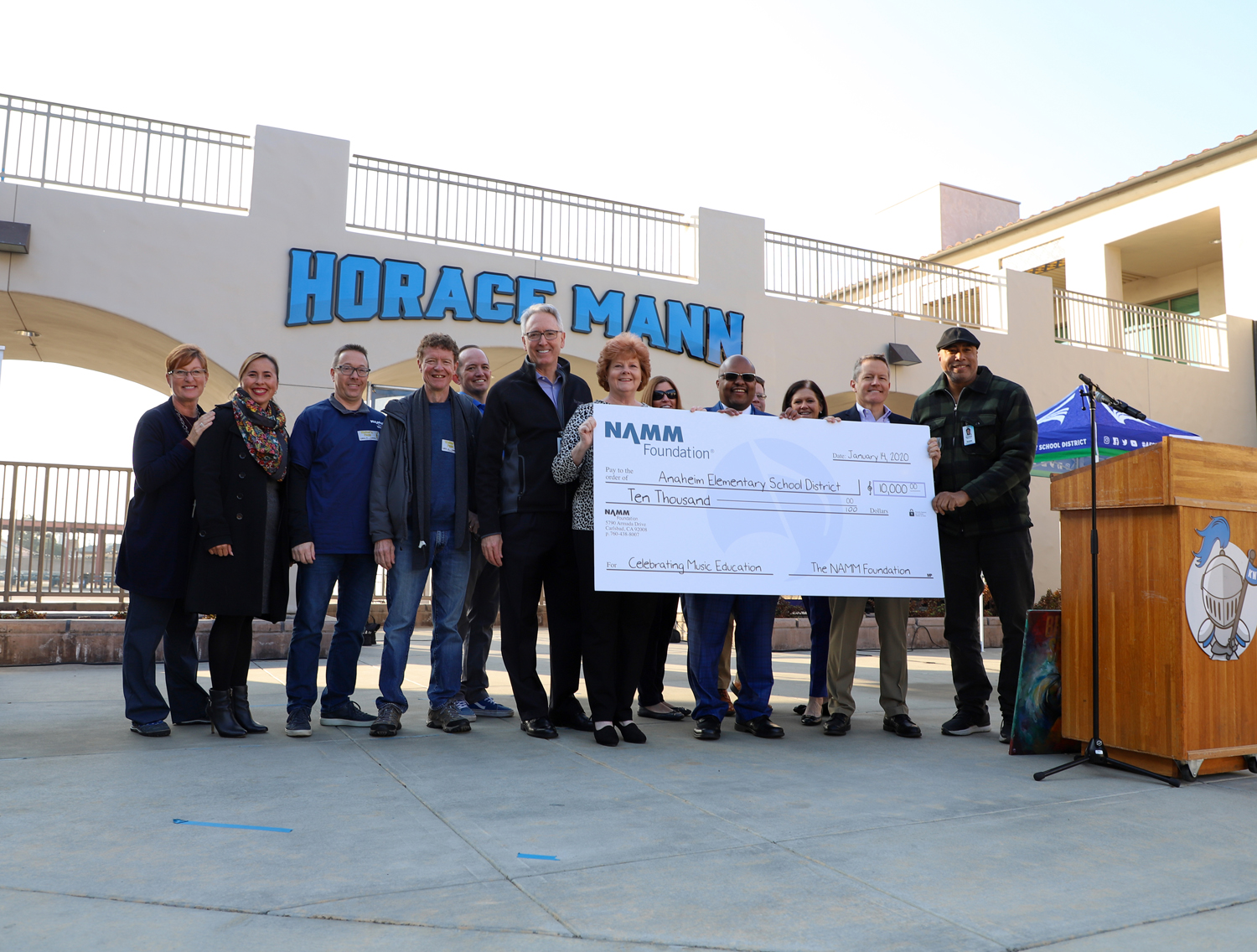NAMM's Day of Service