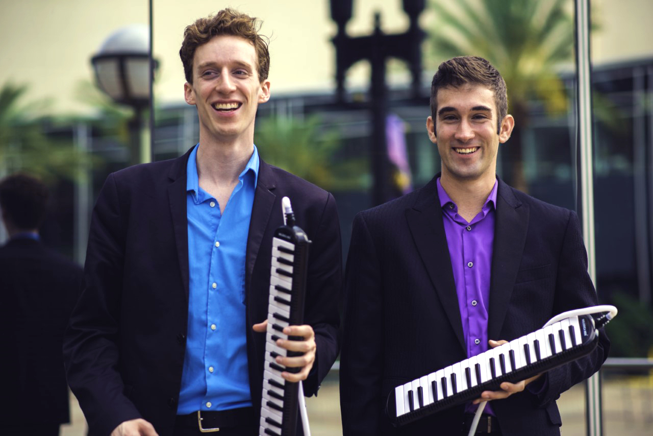 Melodica Men at The NAMM Show