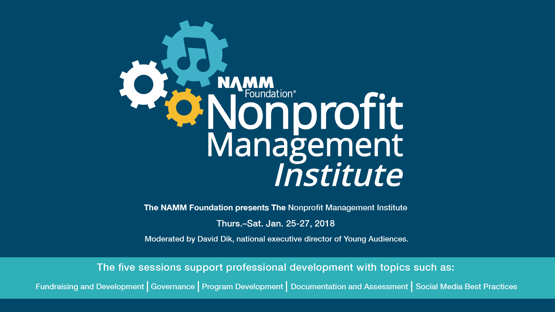 The nonprofit management institute at the 2018 namm show namm the nonprofit management institute at the 2018 namm show 1betcityfo Image collections