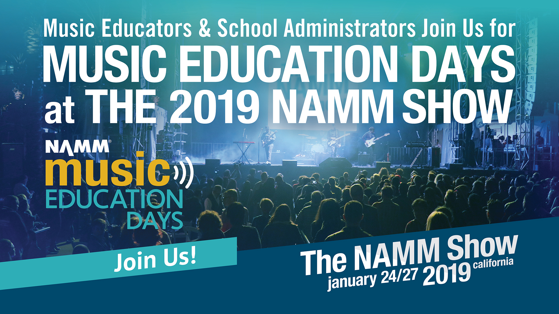 Music Education Days at The 2019 NAMM Show