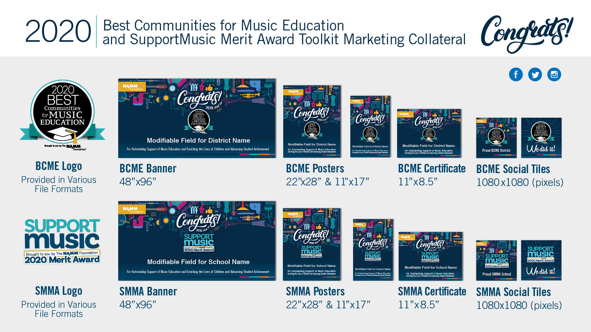 Best Communities for Music Education Promotional Toolkit image