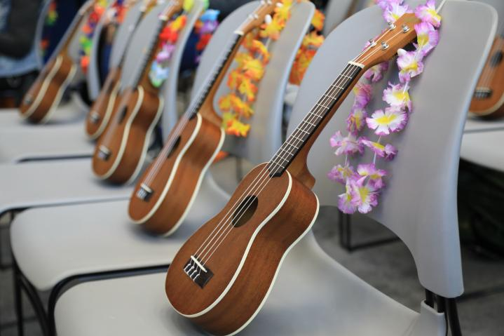 Ukulele Circle at The 2019 NAMM Show