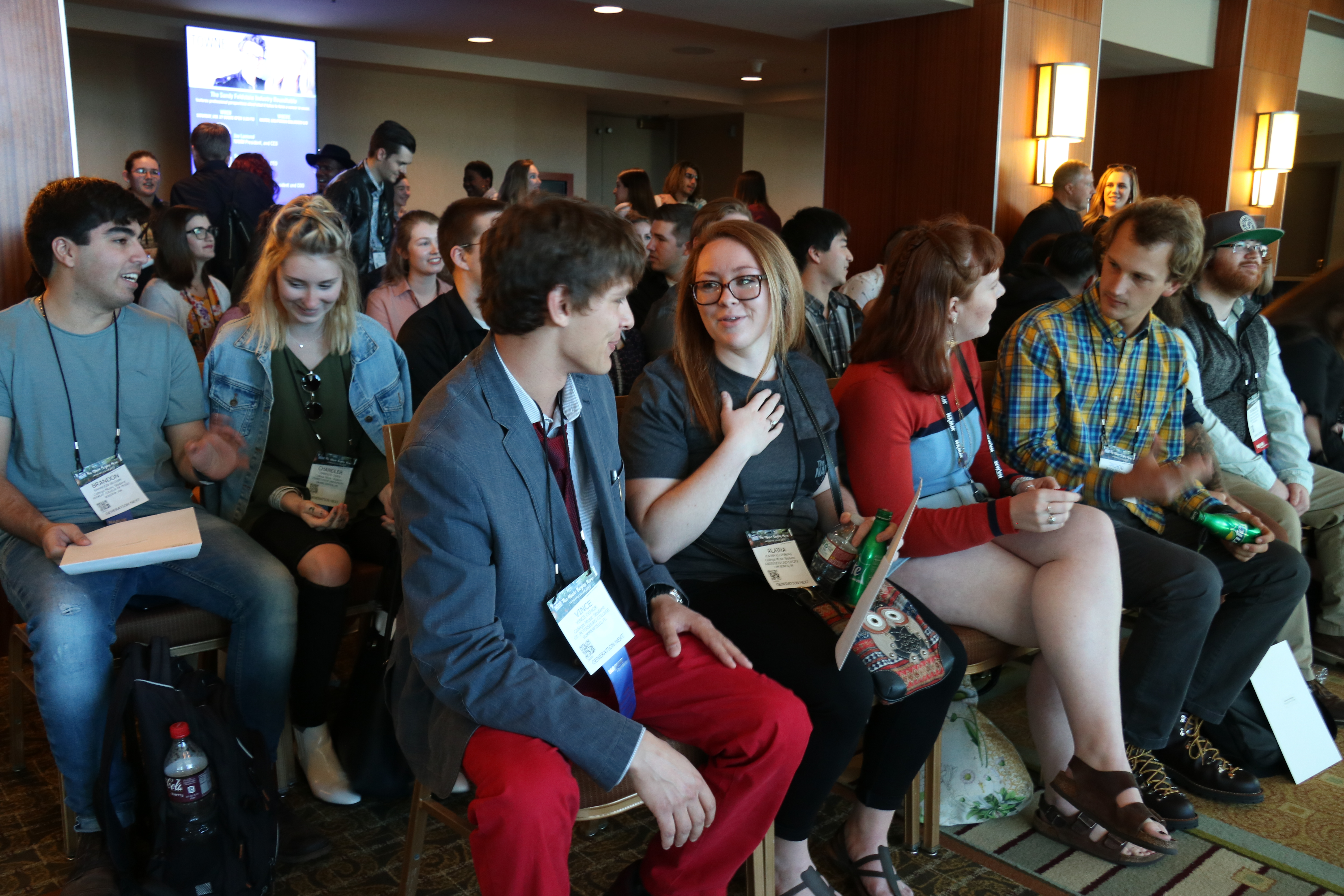 GenNext Students Gain Insight Into the Music Industry at The