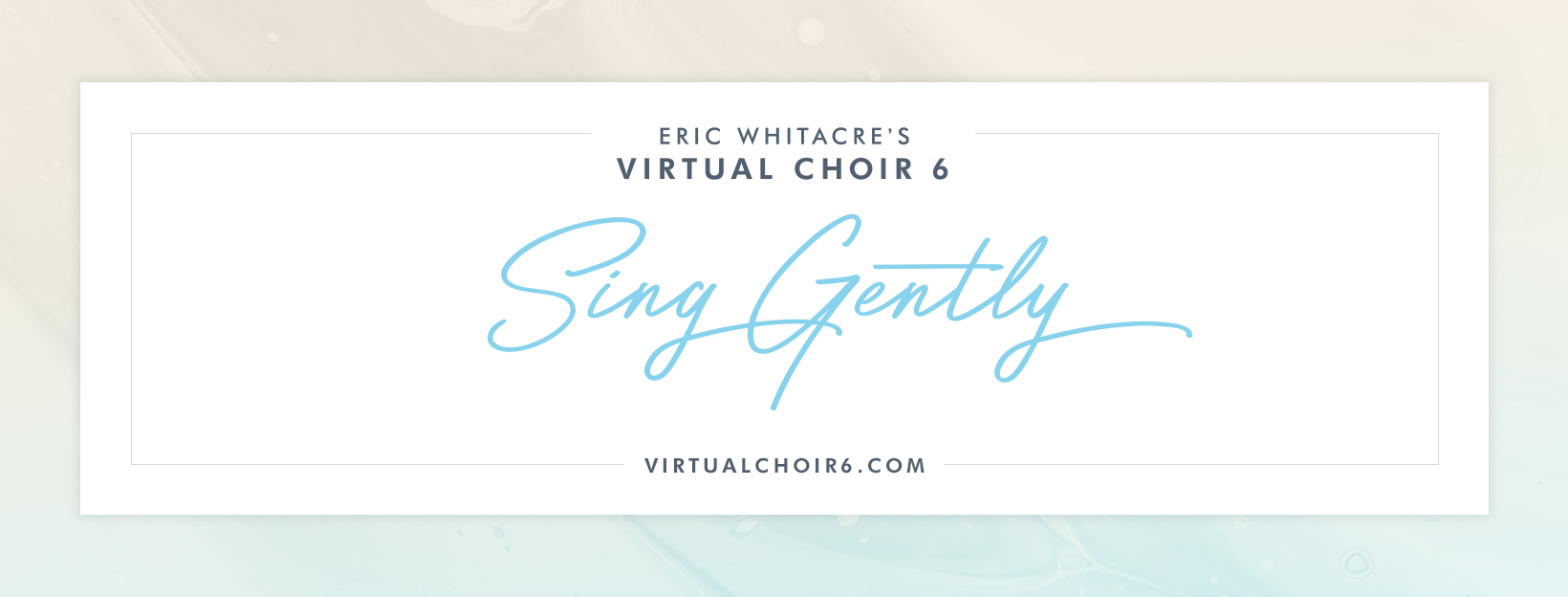 Eric Whitacre's Virtual Choir Sing Gently