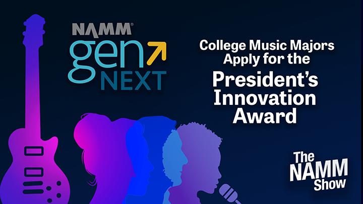 President's Innovation Award Application Opportunity for NAMM Show 2022