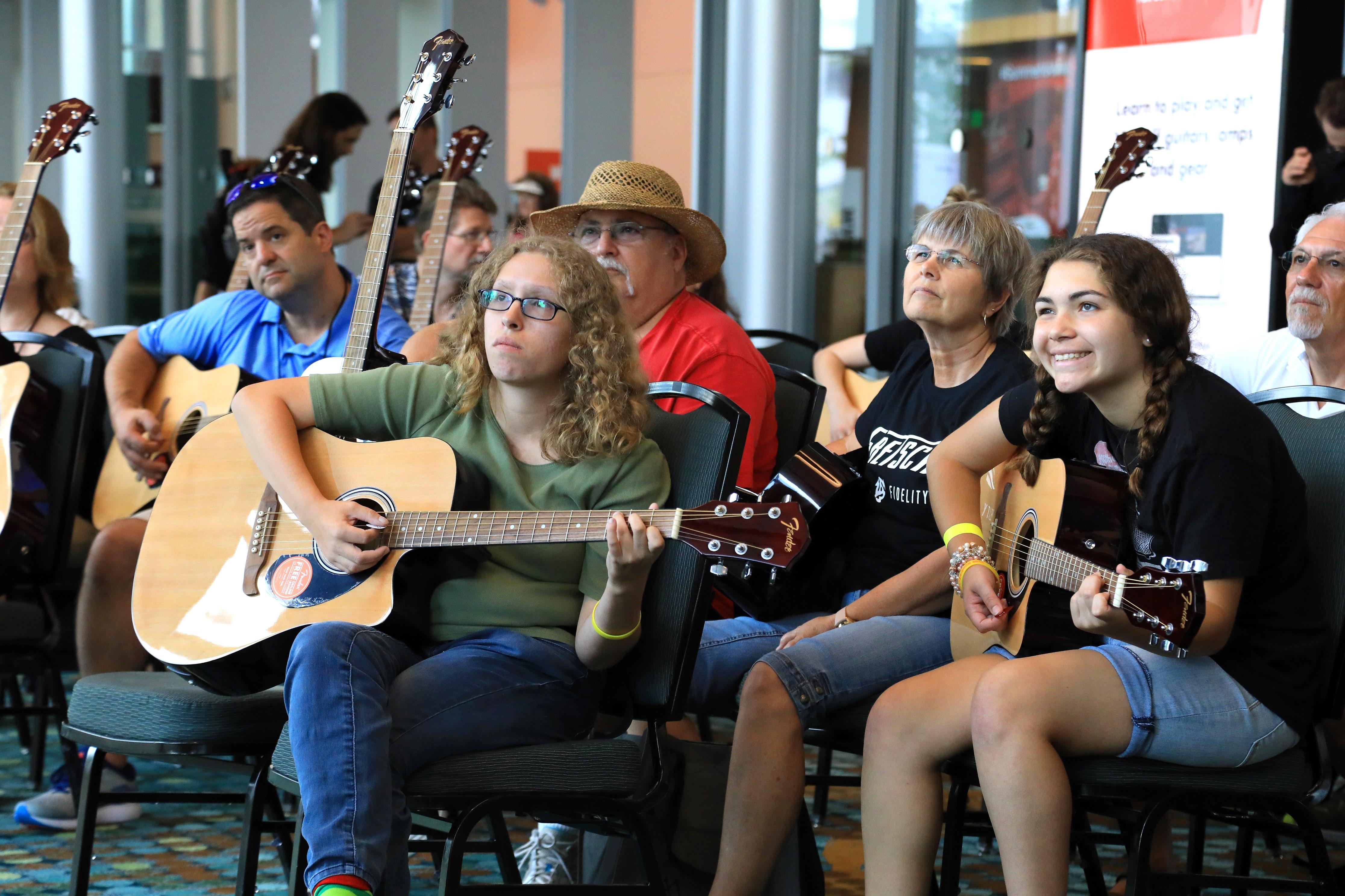 Guitar Circle at Summer NAMM