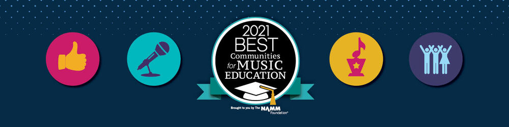 2021 Best Communities for Music Education program
