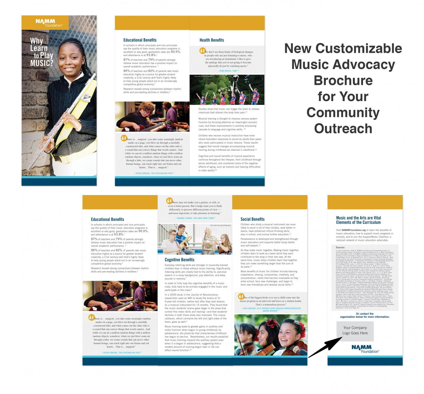 Why Learn to Play Music? advocacy brochure   NAMM Foundation