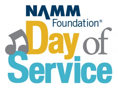 NAMM Day of Service logo
