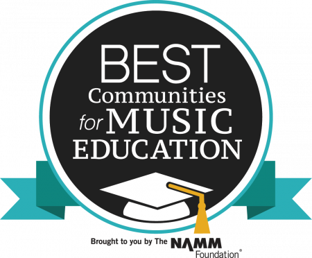 Best Communities for Music Education logo PNG file