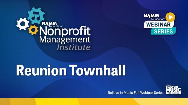 NAMM Foundation's Nonprofit Management Institute
