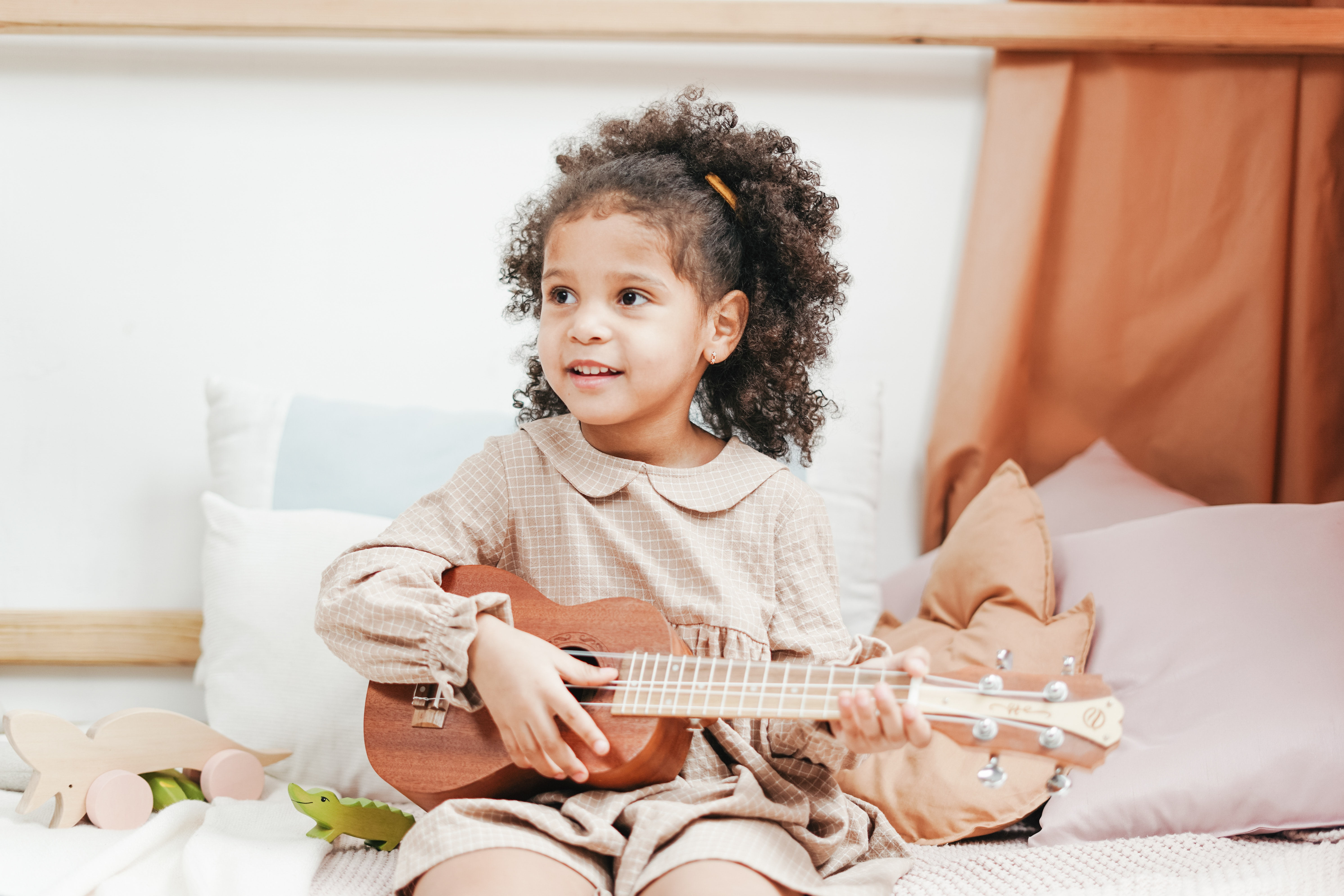 The Ukulele: a Top 10 Instruments for Children to Learn to Play Music